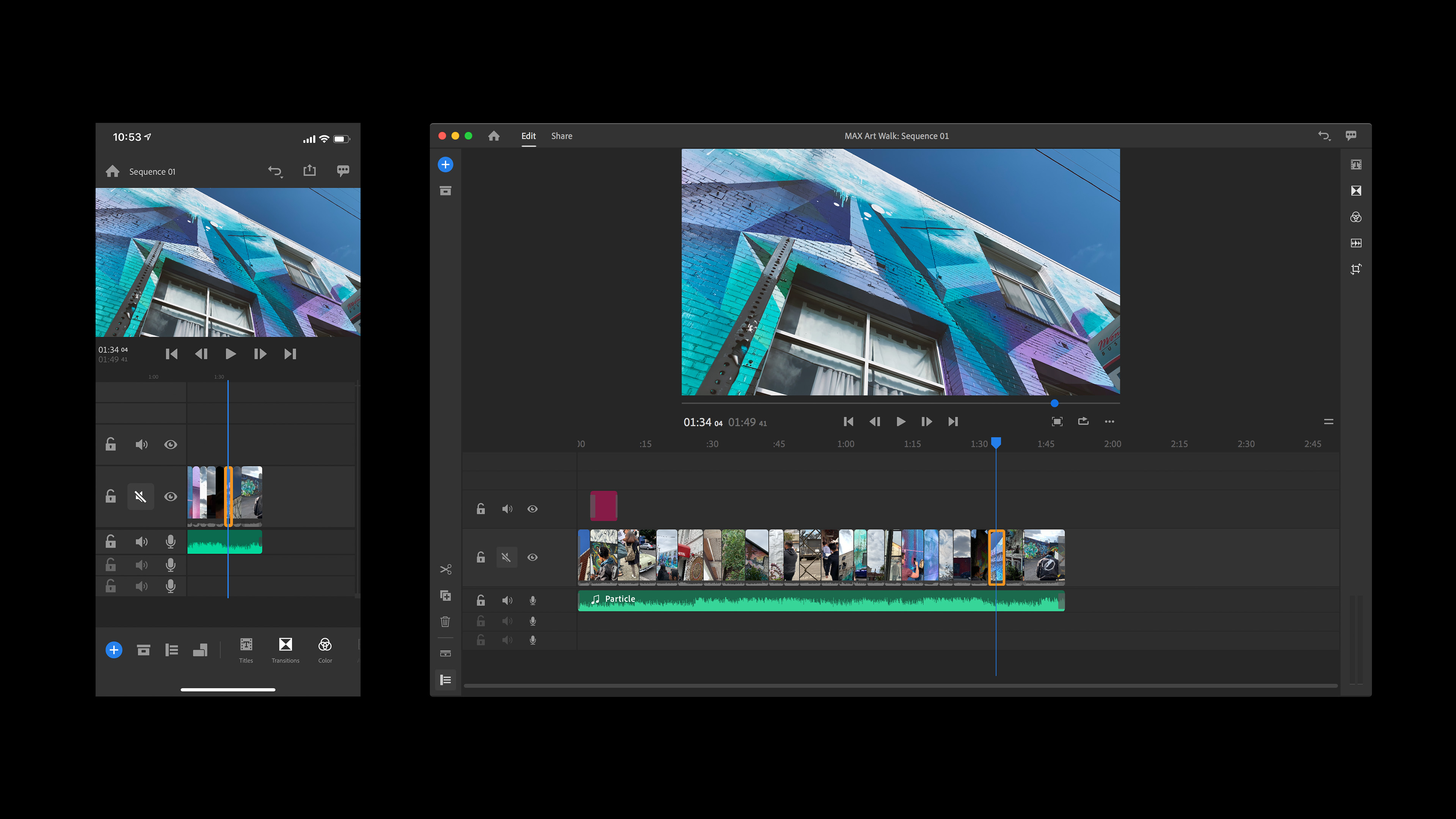 Hands-on with Premiere Rush CC, Adobe's new cross-device