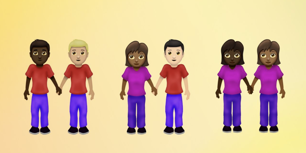 emoji 12 preview details mixed race couples and families accessibility characters and more likely coming to ios 13