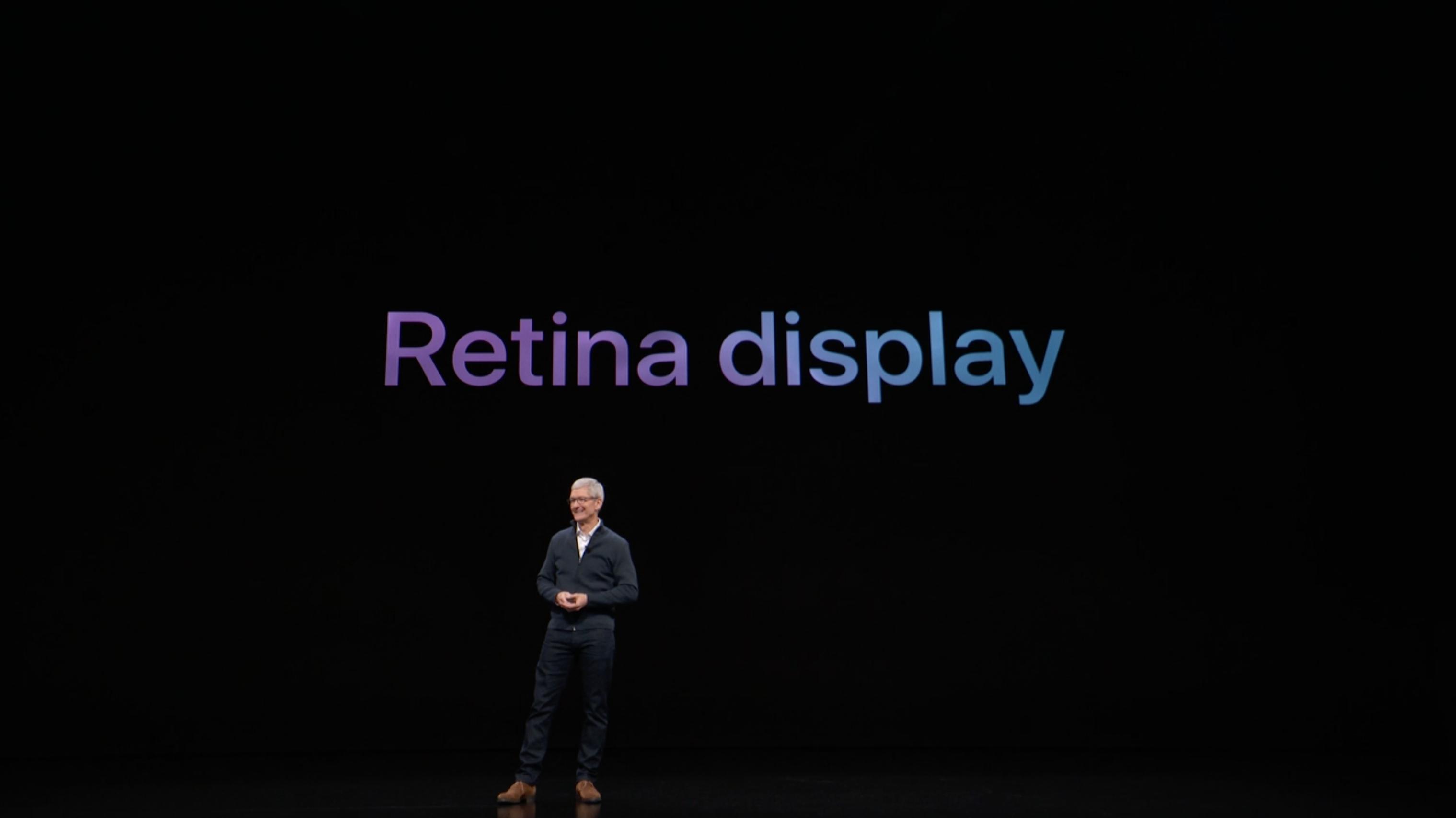 Retina MacBook Air compares