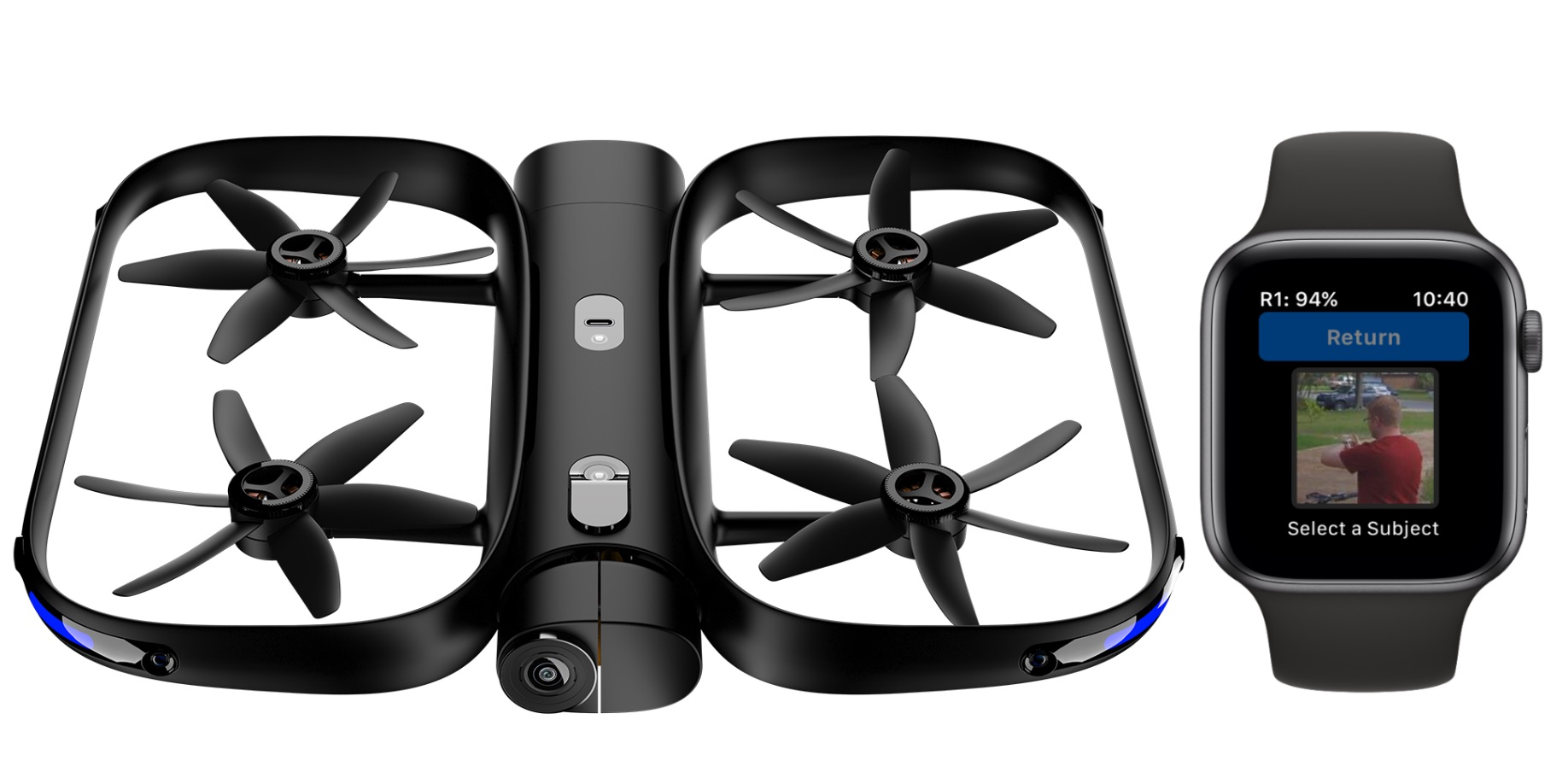 skydio r1 autonomous drone gains apple watch control now in apple stores