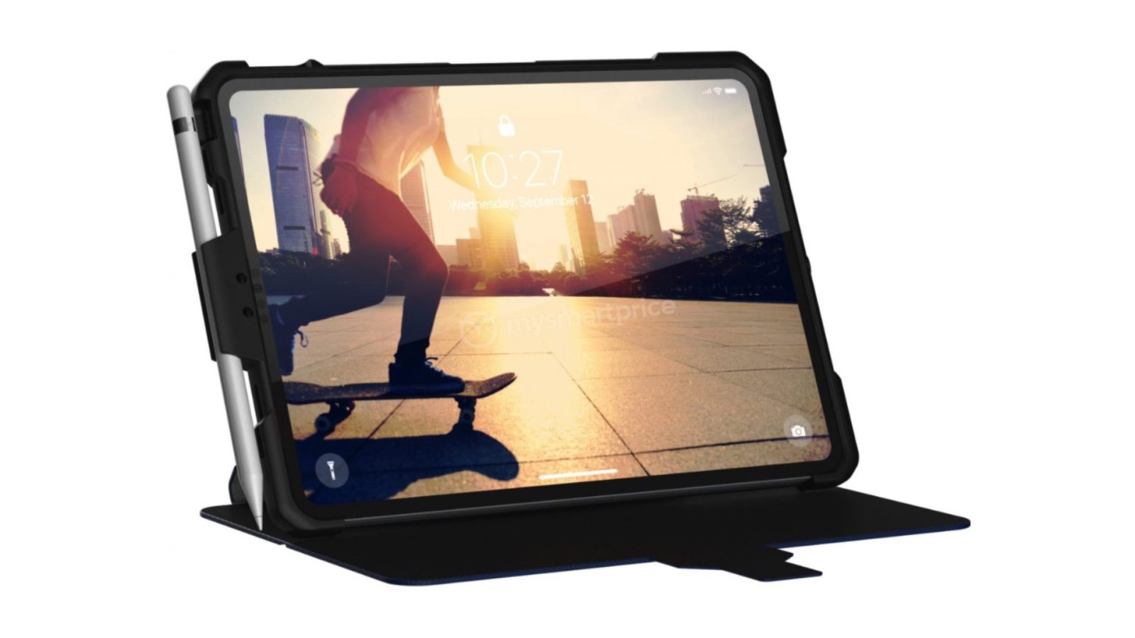 2018 iPad Pro case mockup previews expected all-screen design