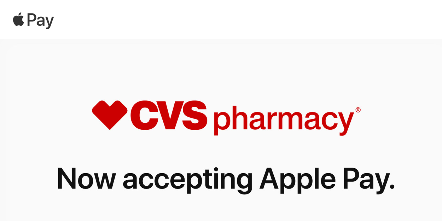 Apple Pay is now accepted at CVS Pharmacy