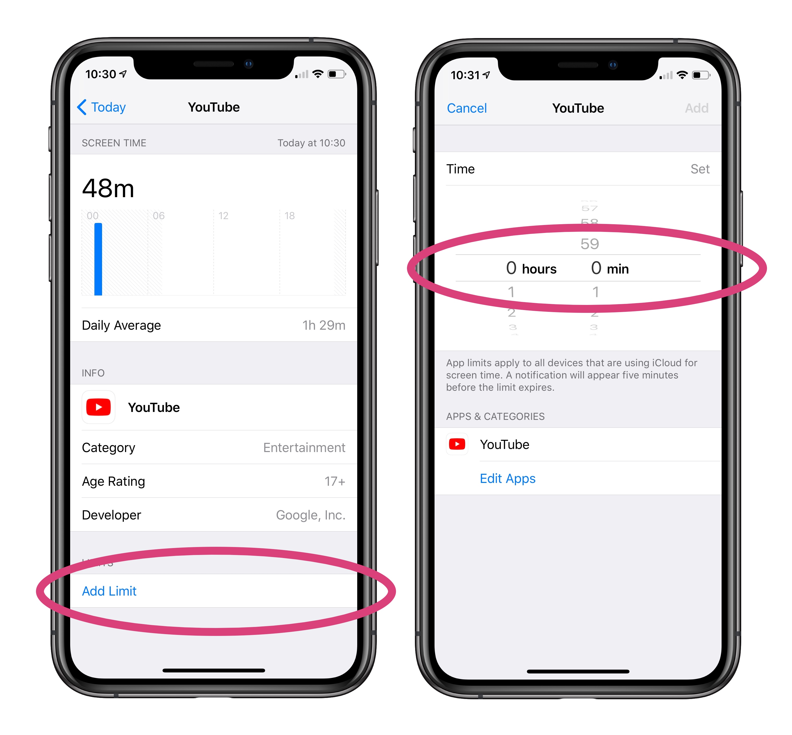 iPhone time limit: How to set a time limit for a specific app on iOS 12