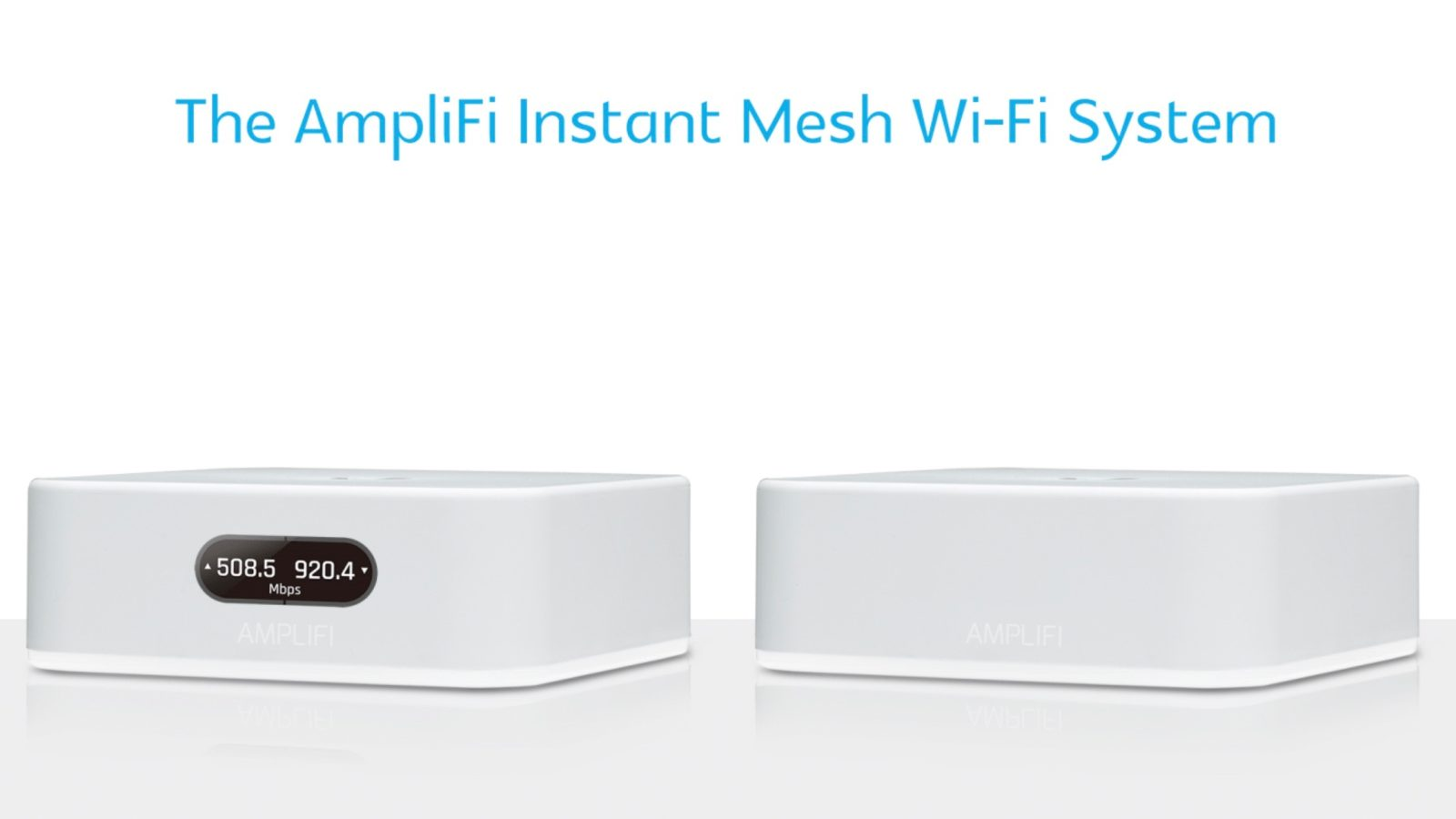 Ubiquiti releases new AmpliFi Instant Mesh Wi-Fi System, sets up in