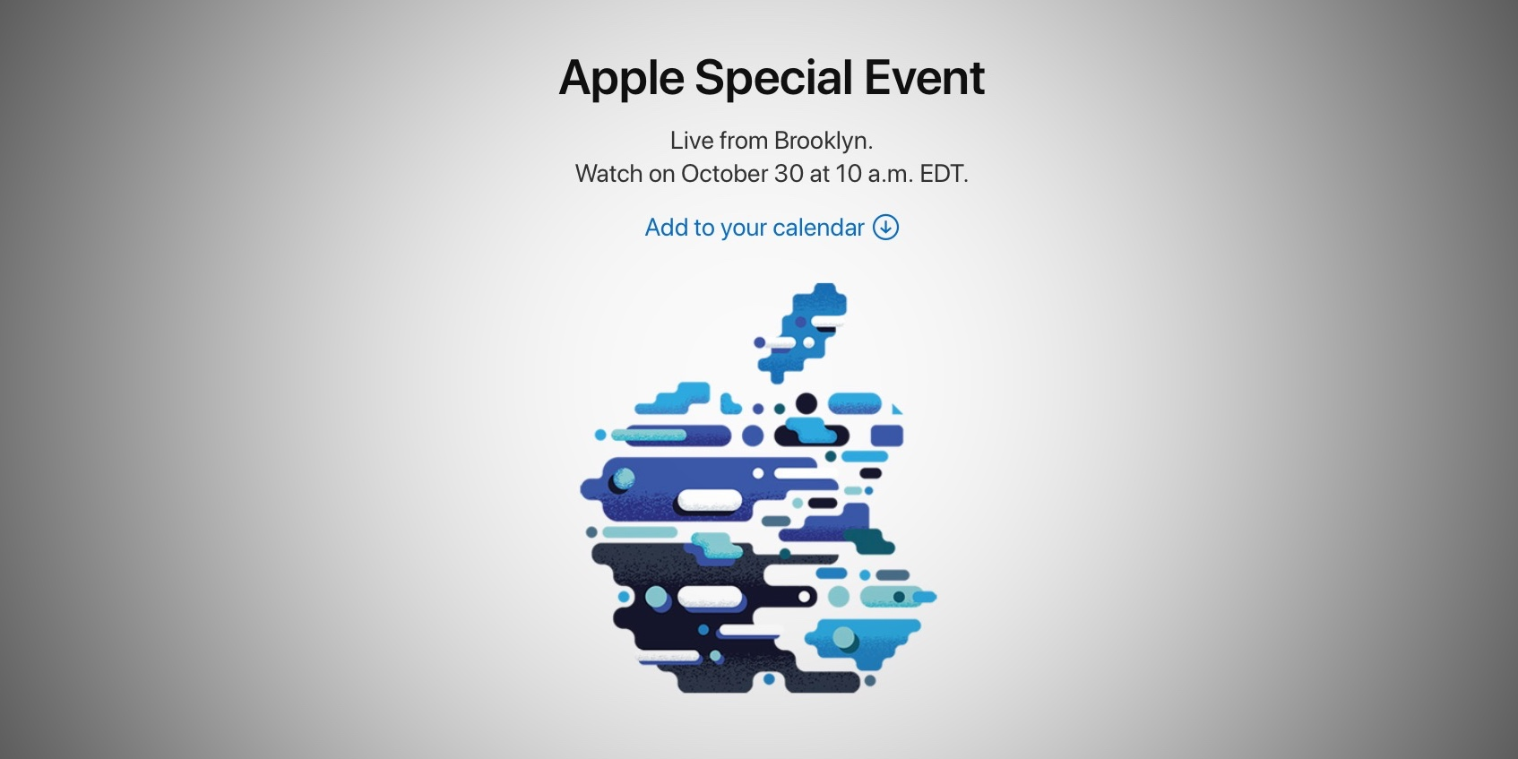 apple will live stream its october 30 event on the web ipad pro and new macs rumored