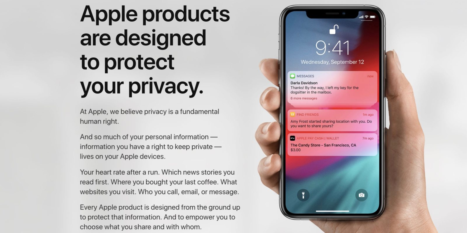 Apple updates Privacy website w/ details on iOS 12 & macOS Mojave