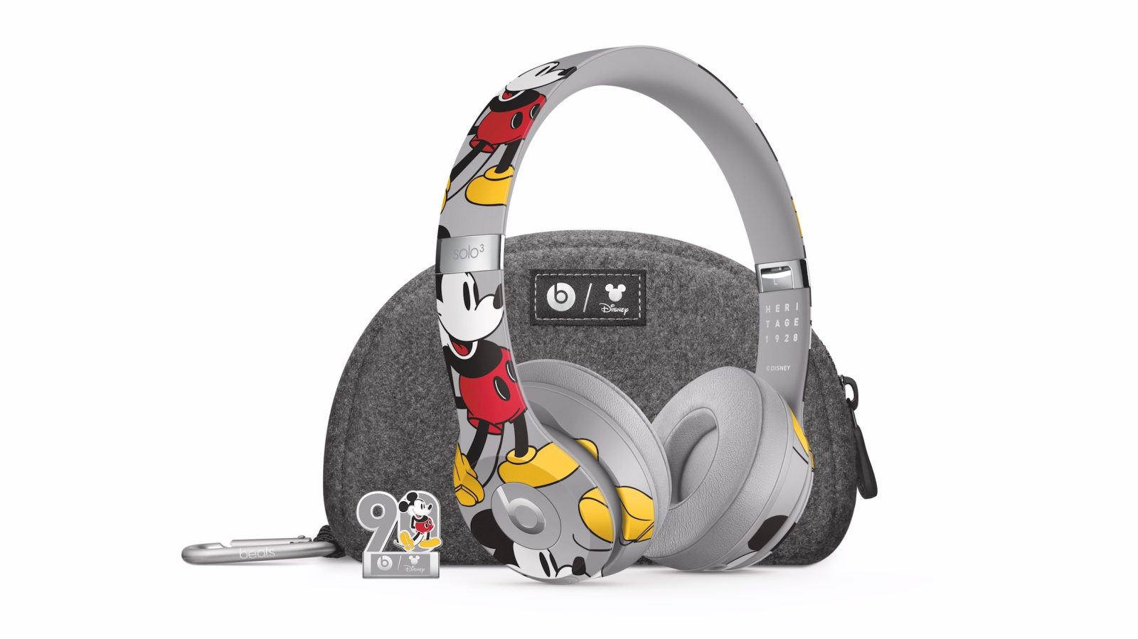 d243eef8471 Beats by Dre unveils special edition Mickey Mouse Solo 3 Wireless headphones  for 90th anniversary