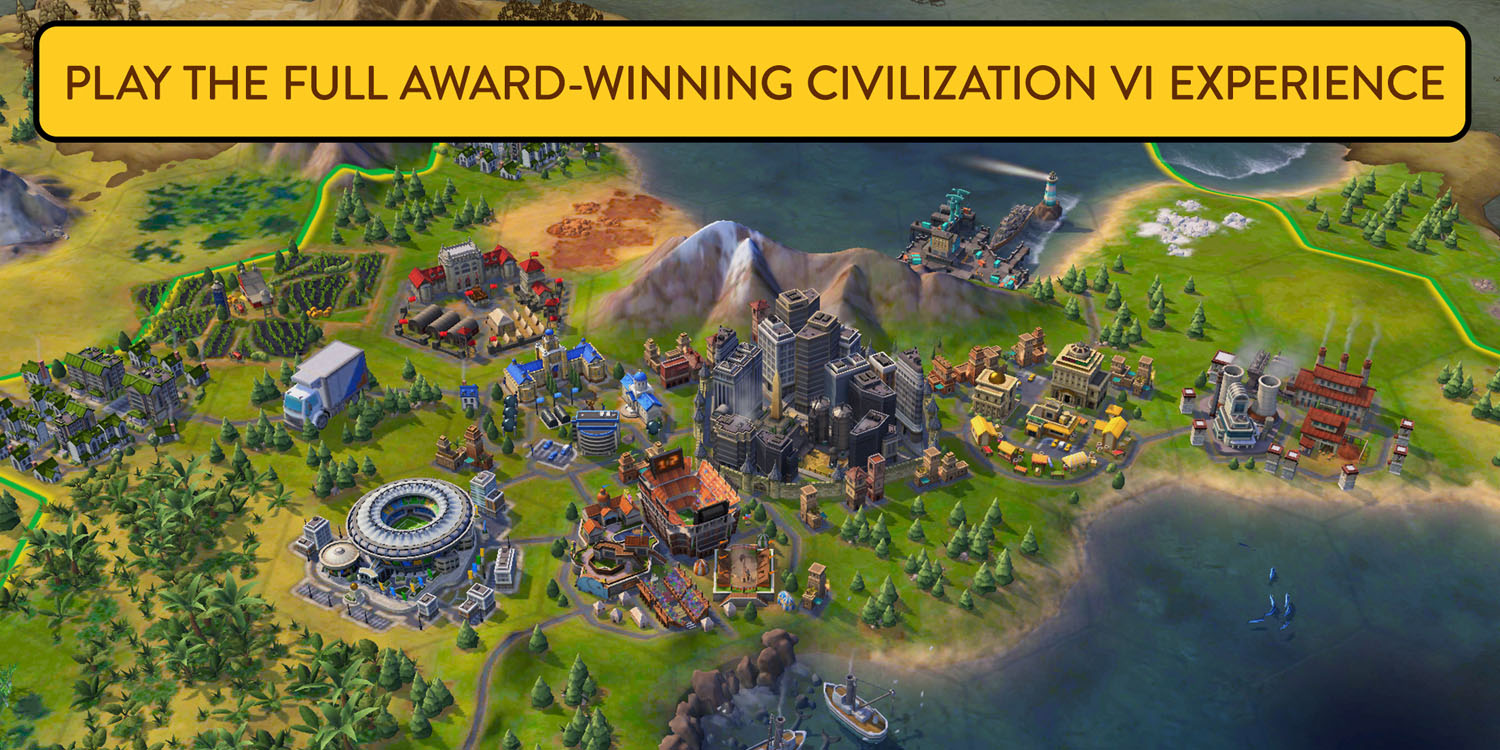 Civilization VI arrives on iPhone, free to iPad players
