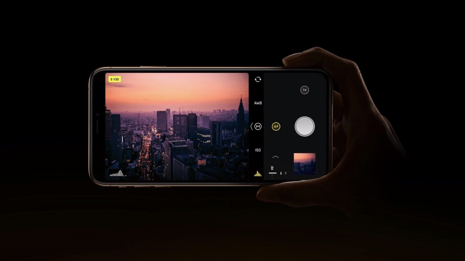 Halide Camera Updated with New 'Smart RAW' Feature for iPhone XS, More