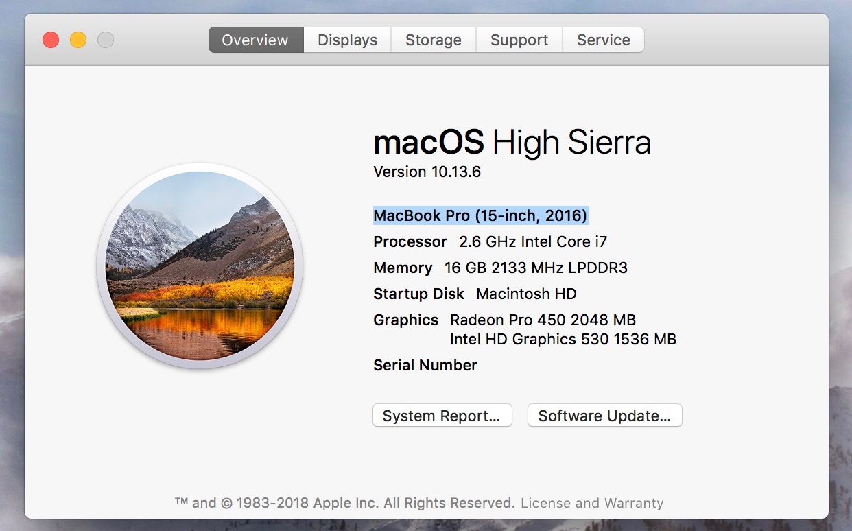 which Mac model