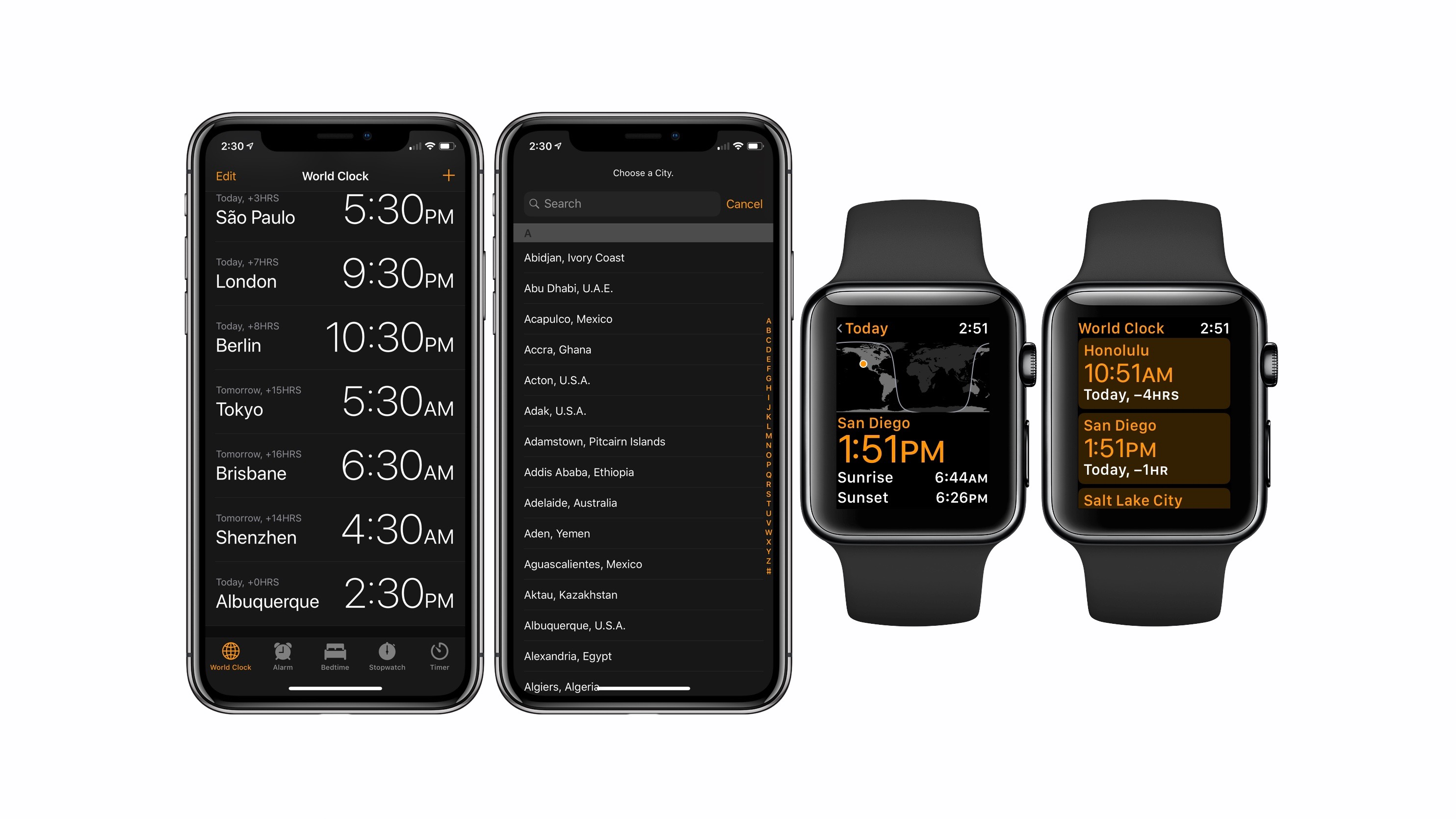 How to use Apple Watch and iPhone World Clock to keep time zones straight