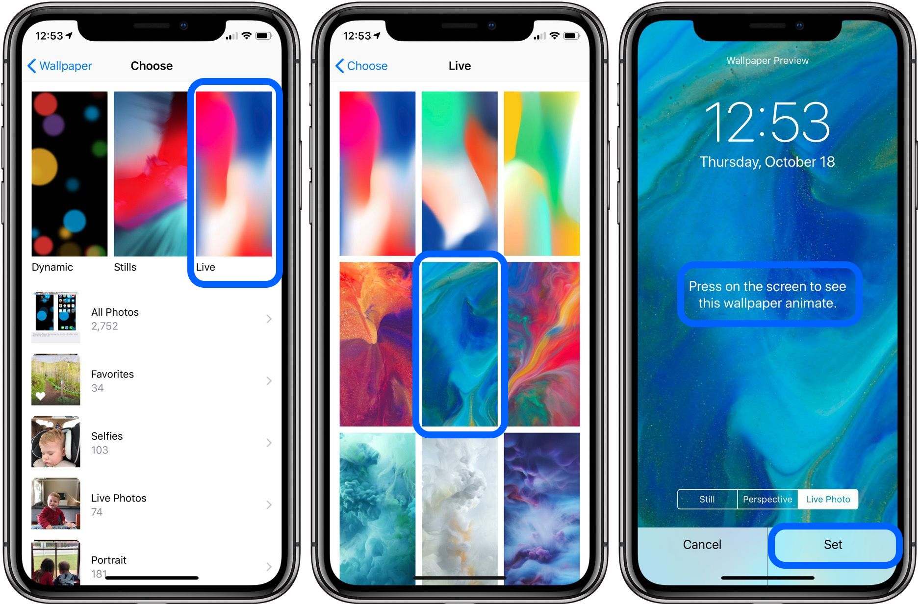 How to make a video your lock screen on iphone 8