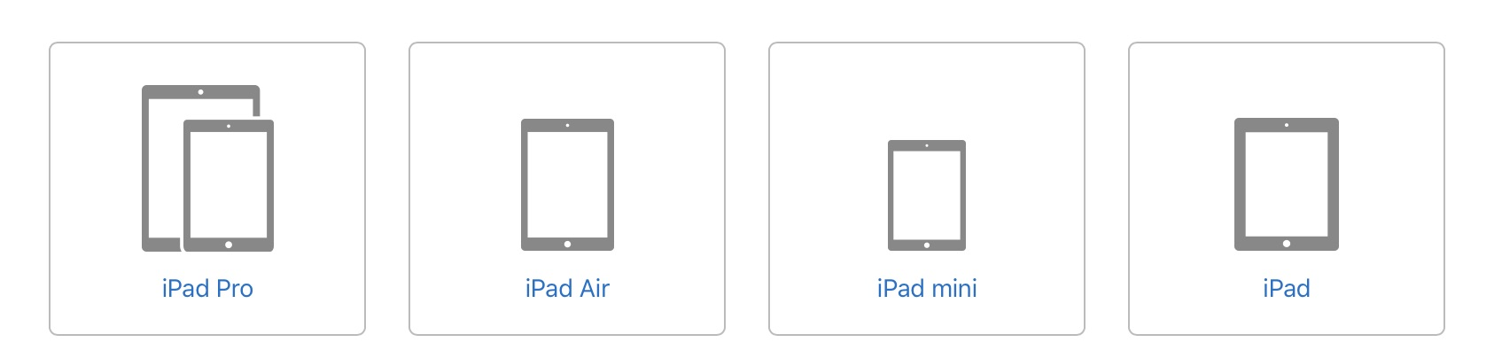 which iPad model