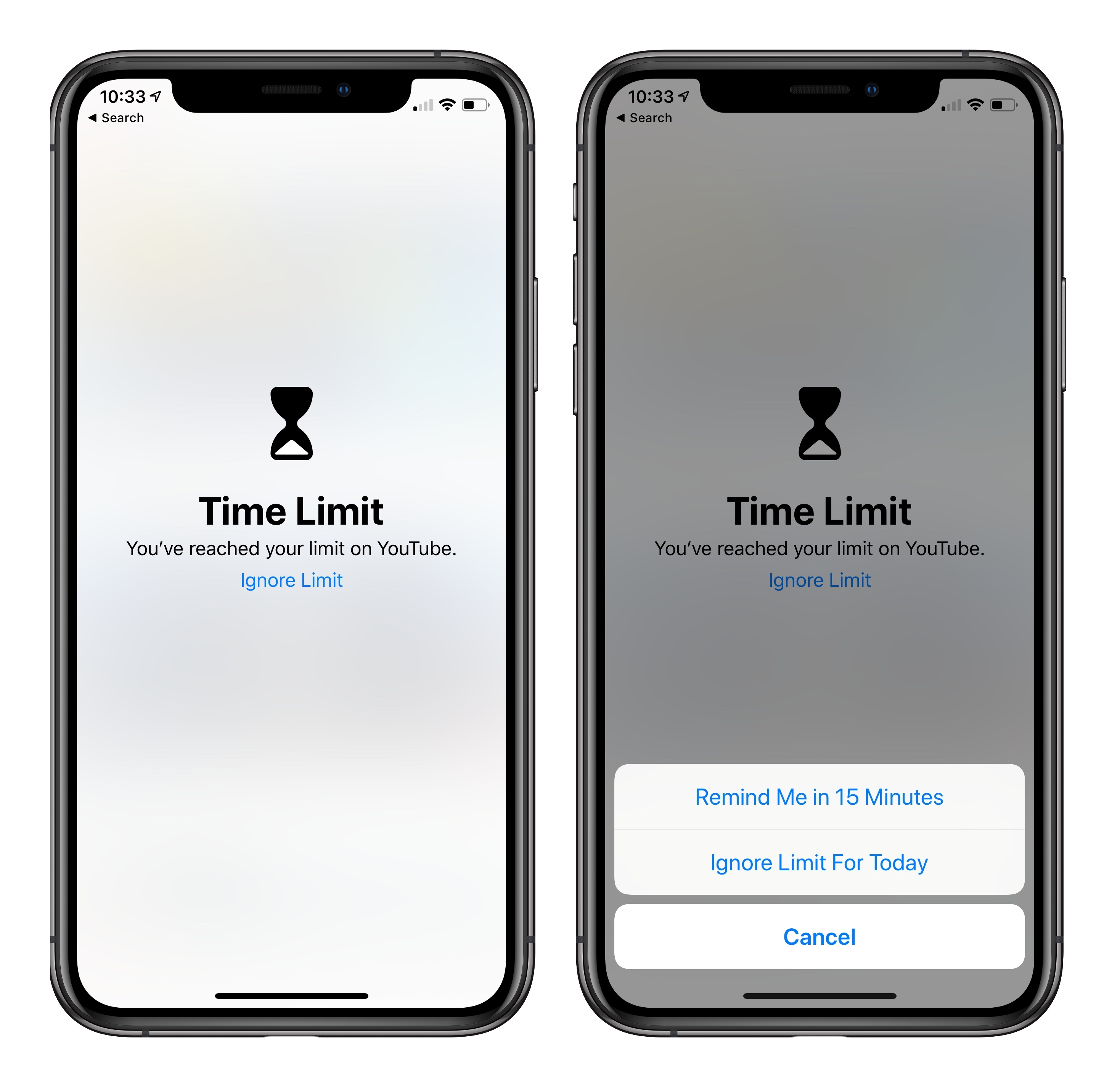 iPhone time limit: How to set a time limit for a specific app on iOS