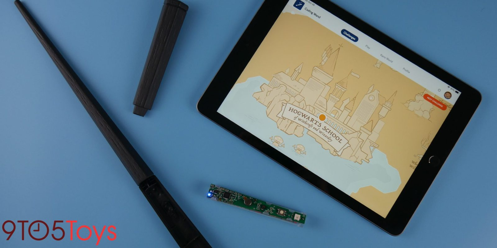 Kano's Harry Potter Wand Kit Now Available at Apple Stores