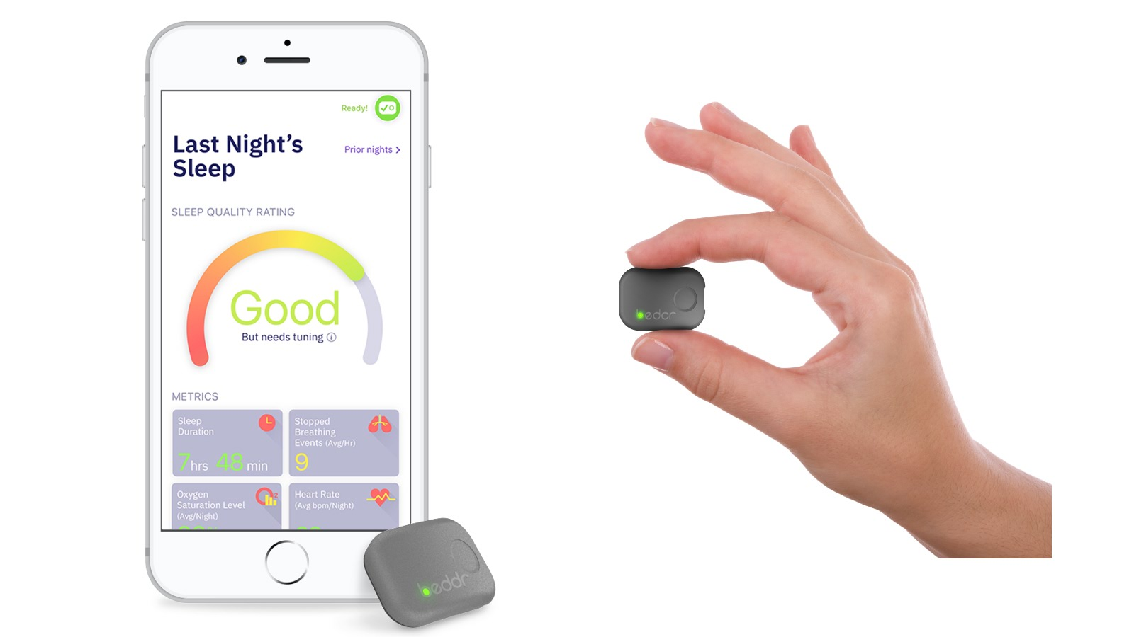 beddr s sleeptuner is a powerful standalone alternative to apple watch sleep tracking