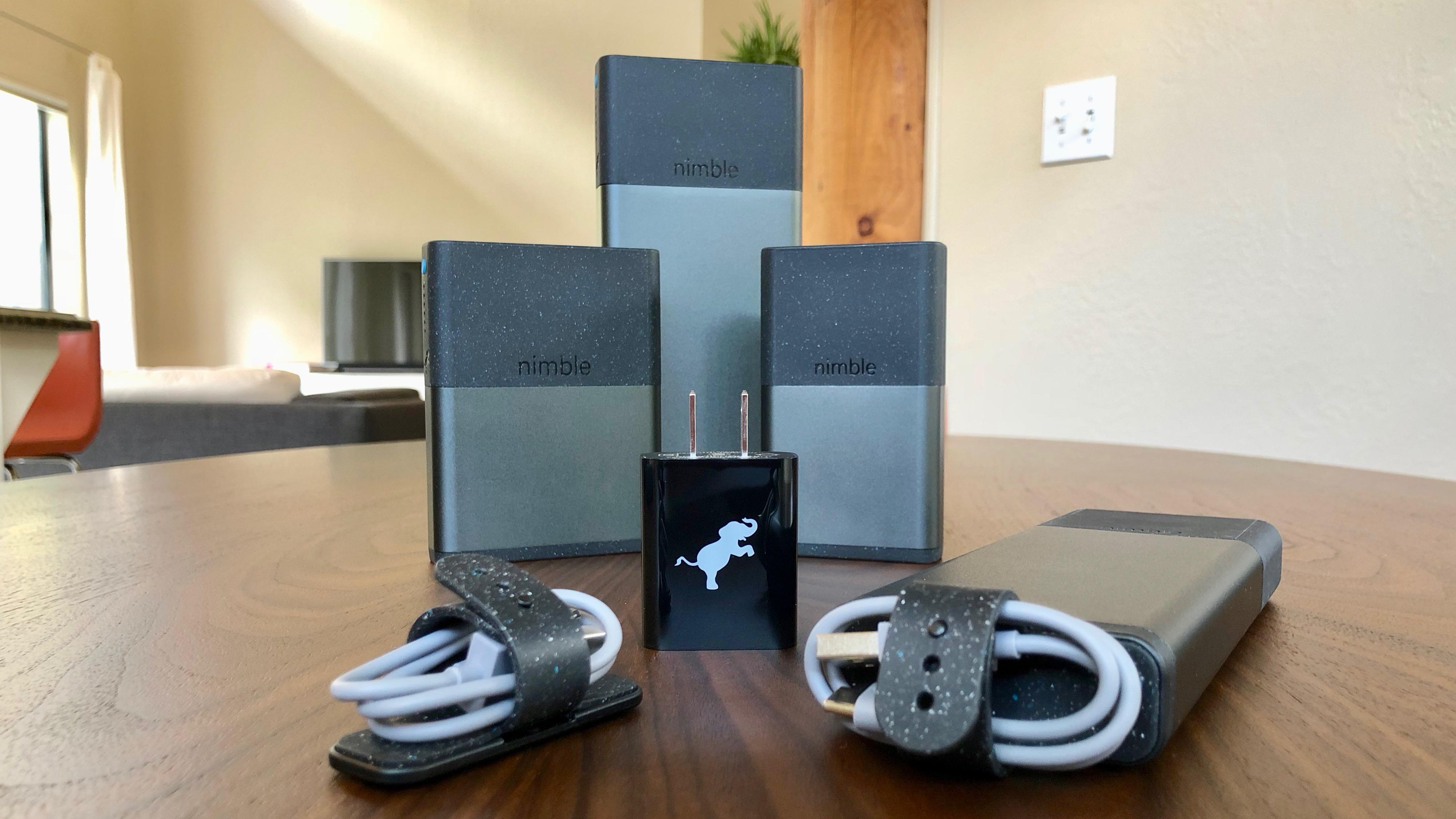Nimble portable chargers