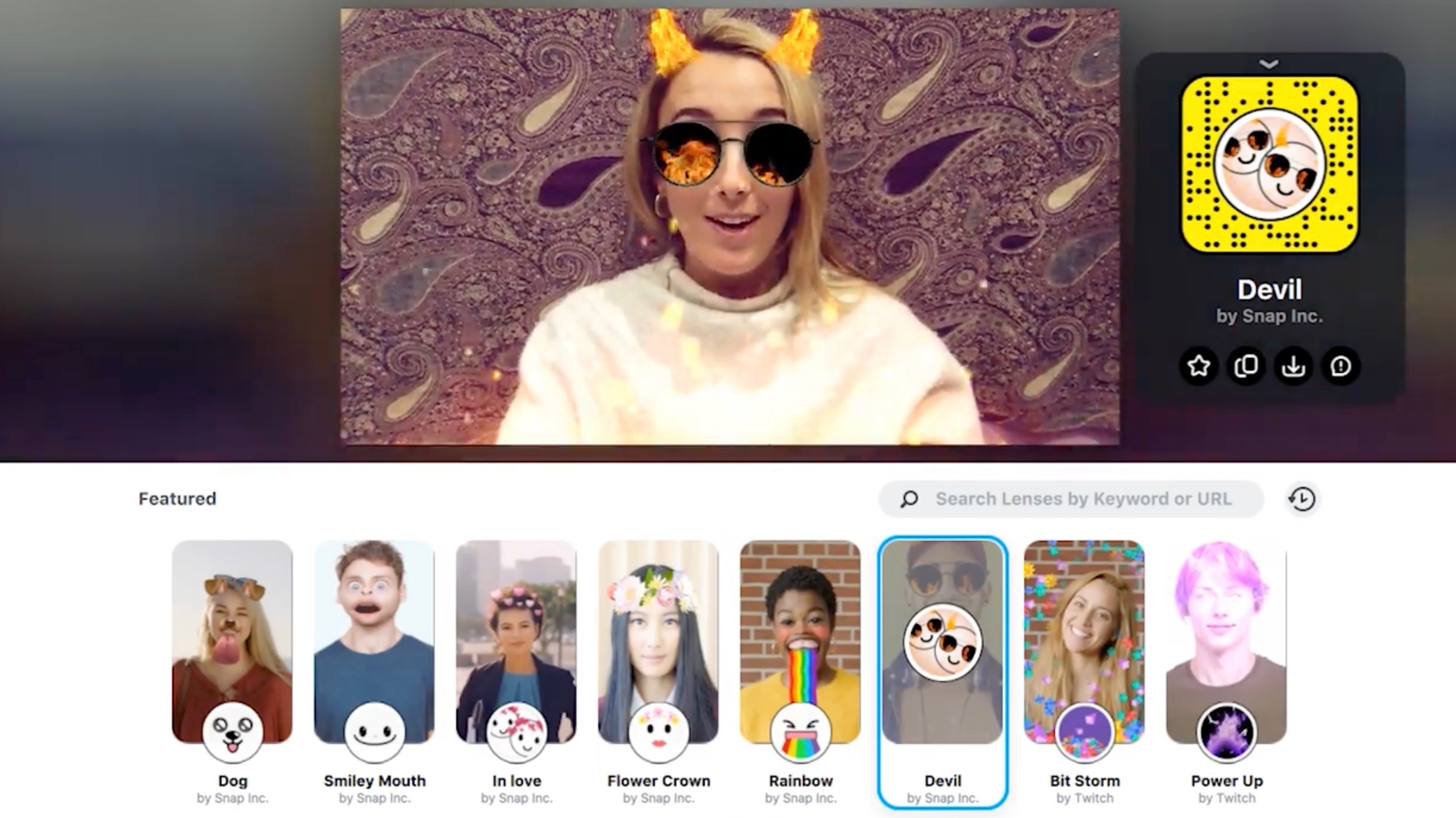 Snapchat Lenses Come To Mac And Pc With New Snap Camera Software 9to5mac