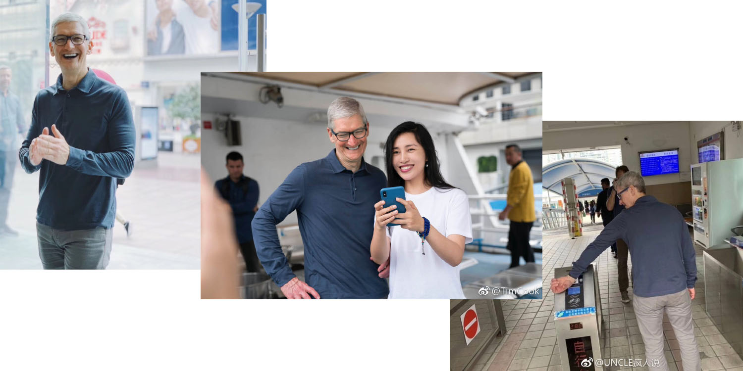 tim cook looks to help disappointing iphone xs sales in china with pr trip this week report says