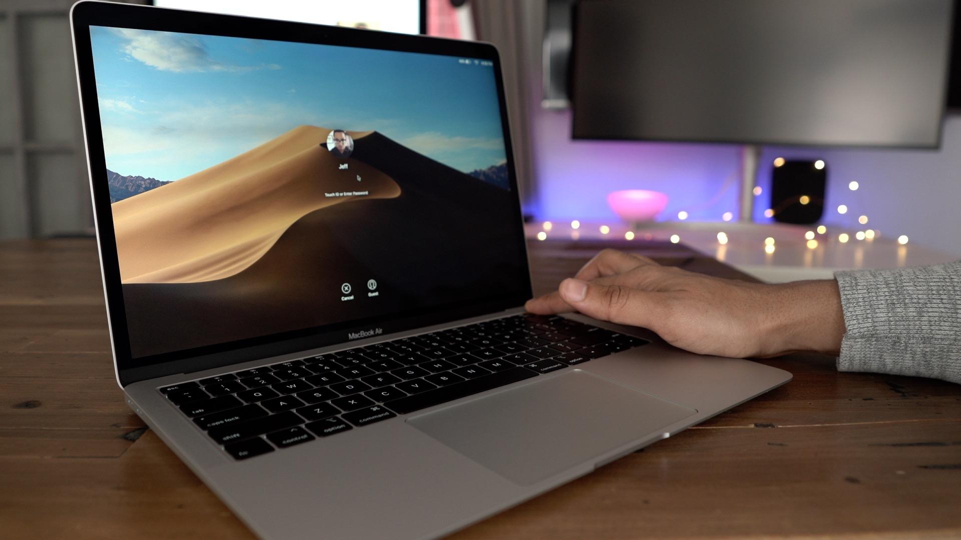Force Restart A Macbook Air