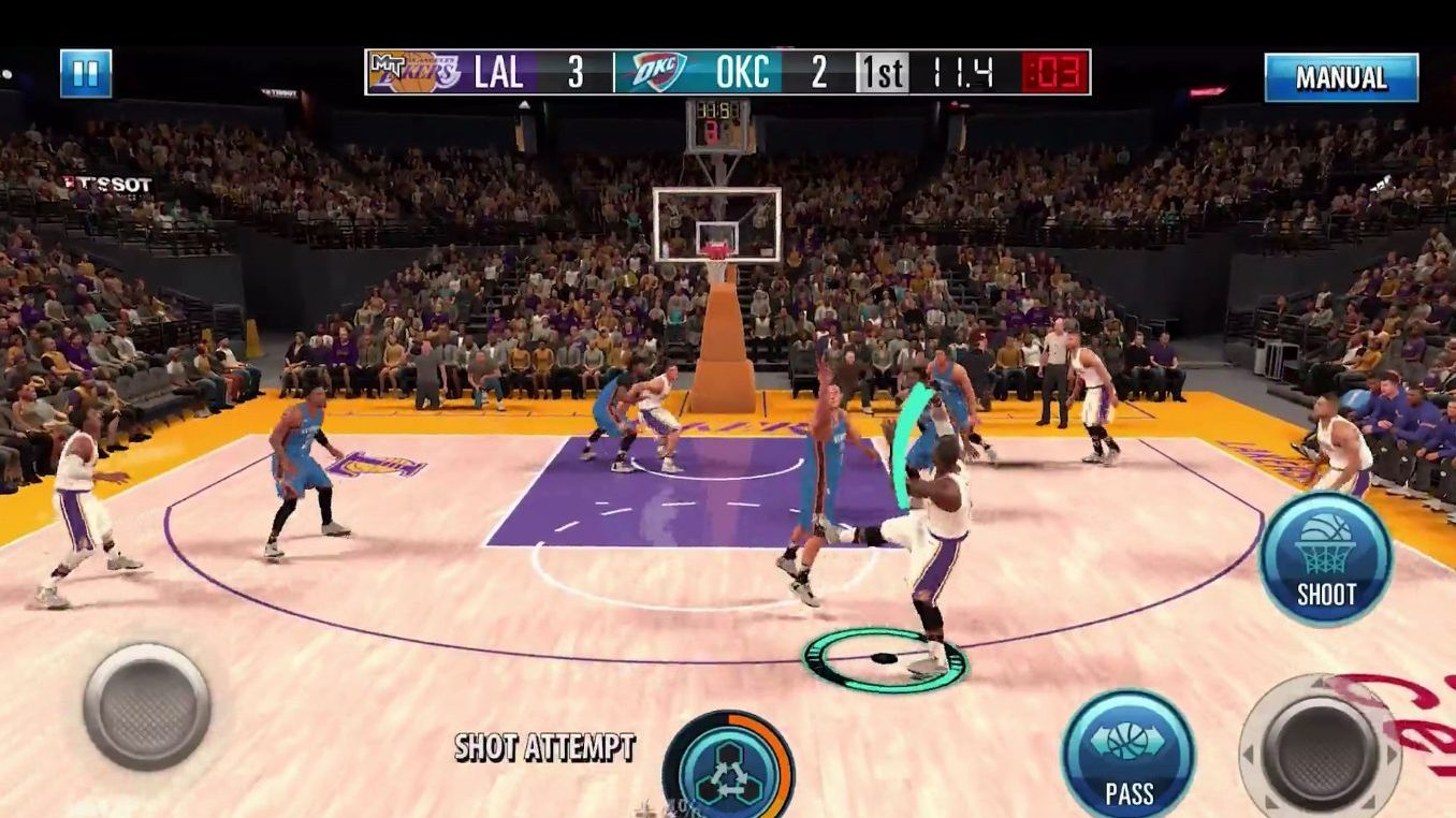 a4f6281fcac NBA 2K Mobile update seen at iPad Pro event with  console level graphics   now available