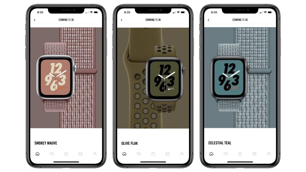 Apple Watch nike bands