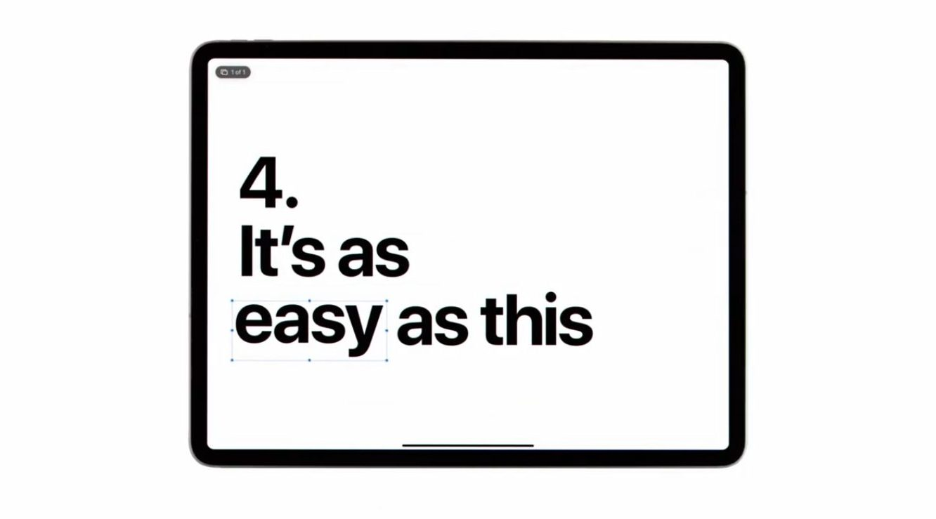 Latest iPad Pro ad touts five reasons it should be 'your next computer'
