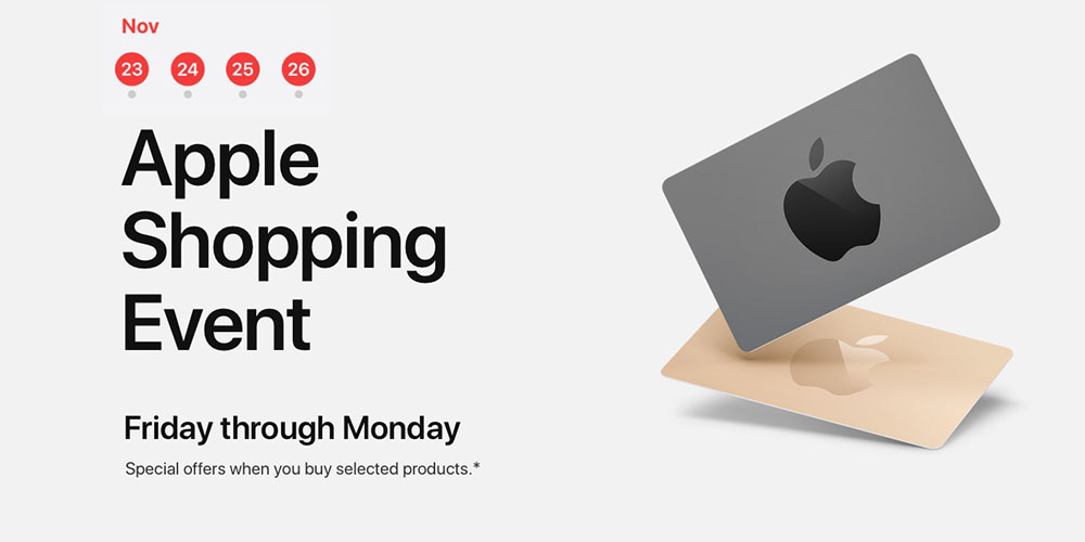 apple black friday offers gift cards on ipad iphone more 9to5mac