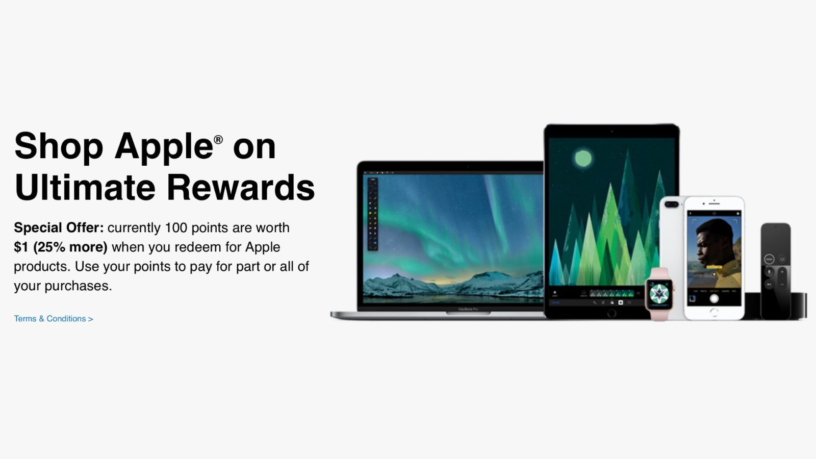 Chase launches Apple Ultimate Rewards Store for buying products with