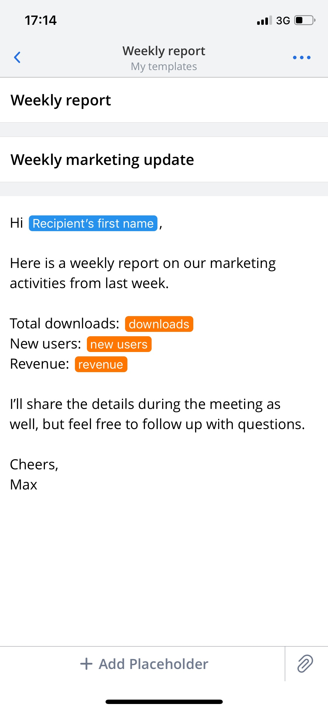 Spark Launches Email Templates For Ios And Mac To Easily Create
