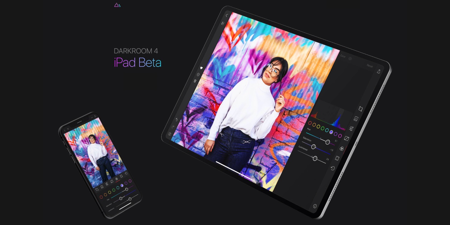 Darkroom 4 image editor coming soon to iPad, beta sign-ups now available
