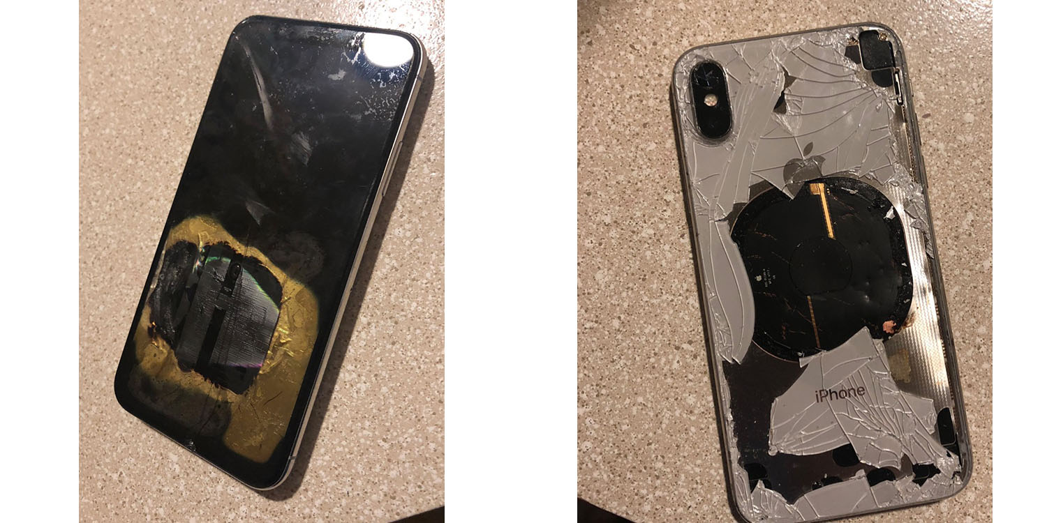 Exploding iPhone - Exploding iPhone X on upgrade to iOS 12.1 'definitely not expected behavior,' says Apple