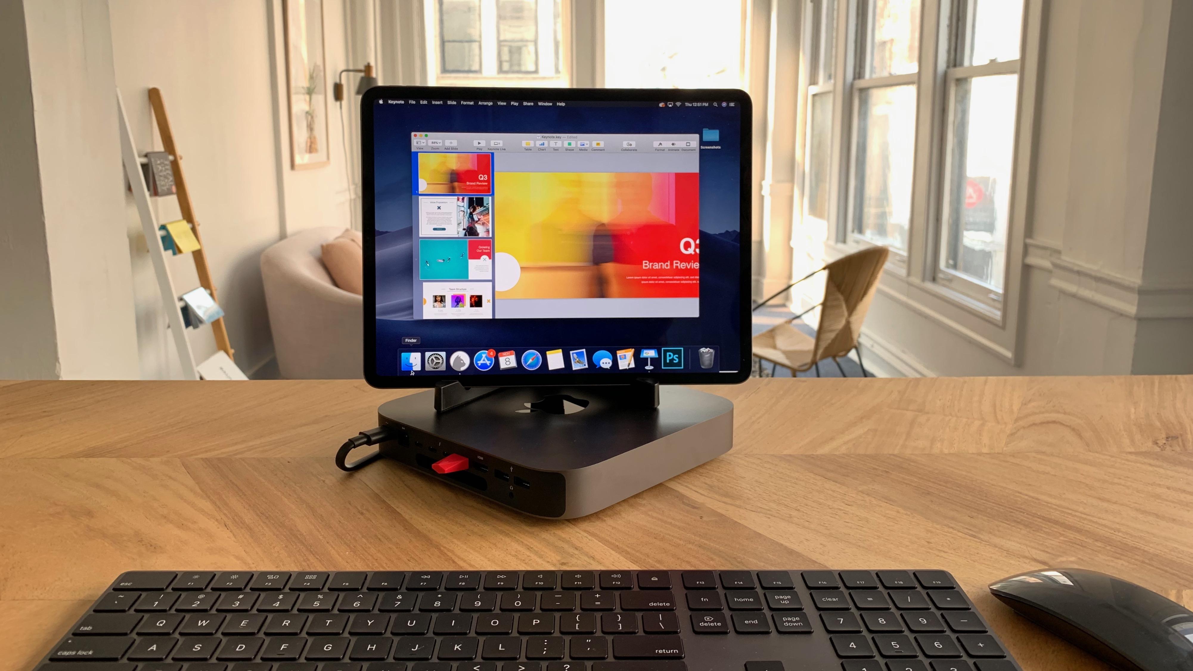 connect ipad to mac mini wireless
