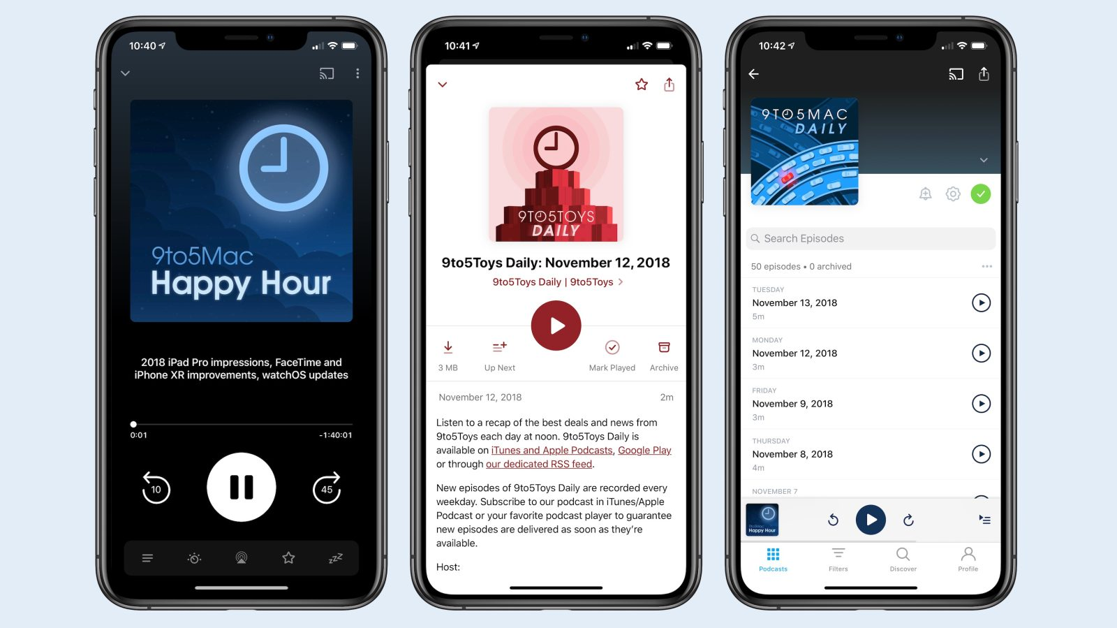 Pocket Casts for iOS adds Siri Shortcuts, syncing, improved