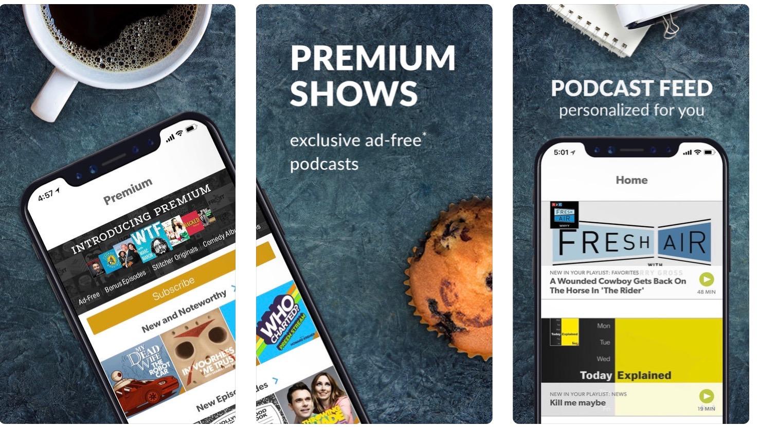 Stitcher for Podcasts on iOS adds Waze integration, CarPlay