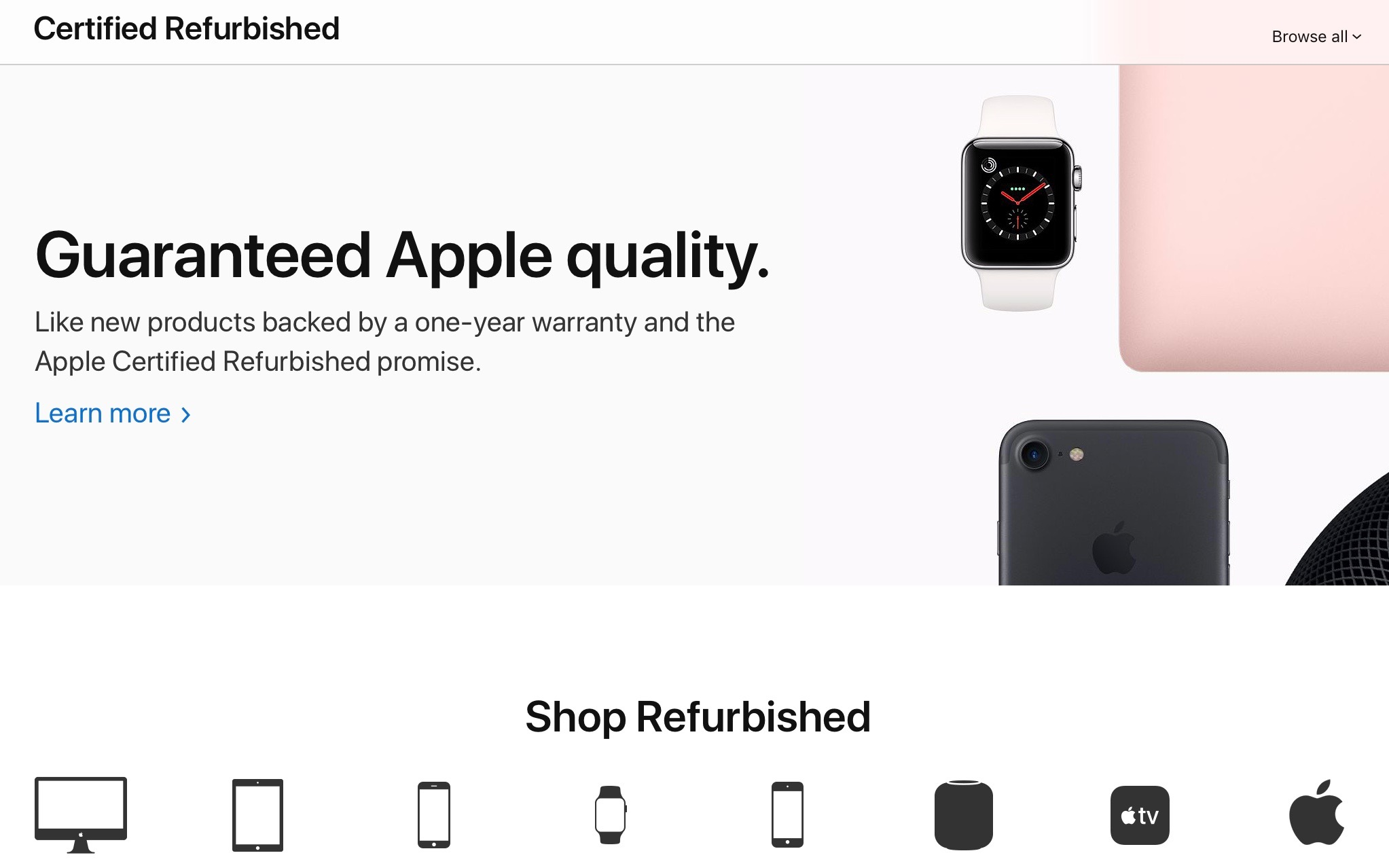 apple store special deals refurbished