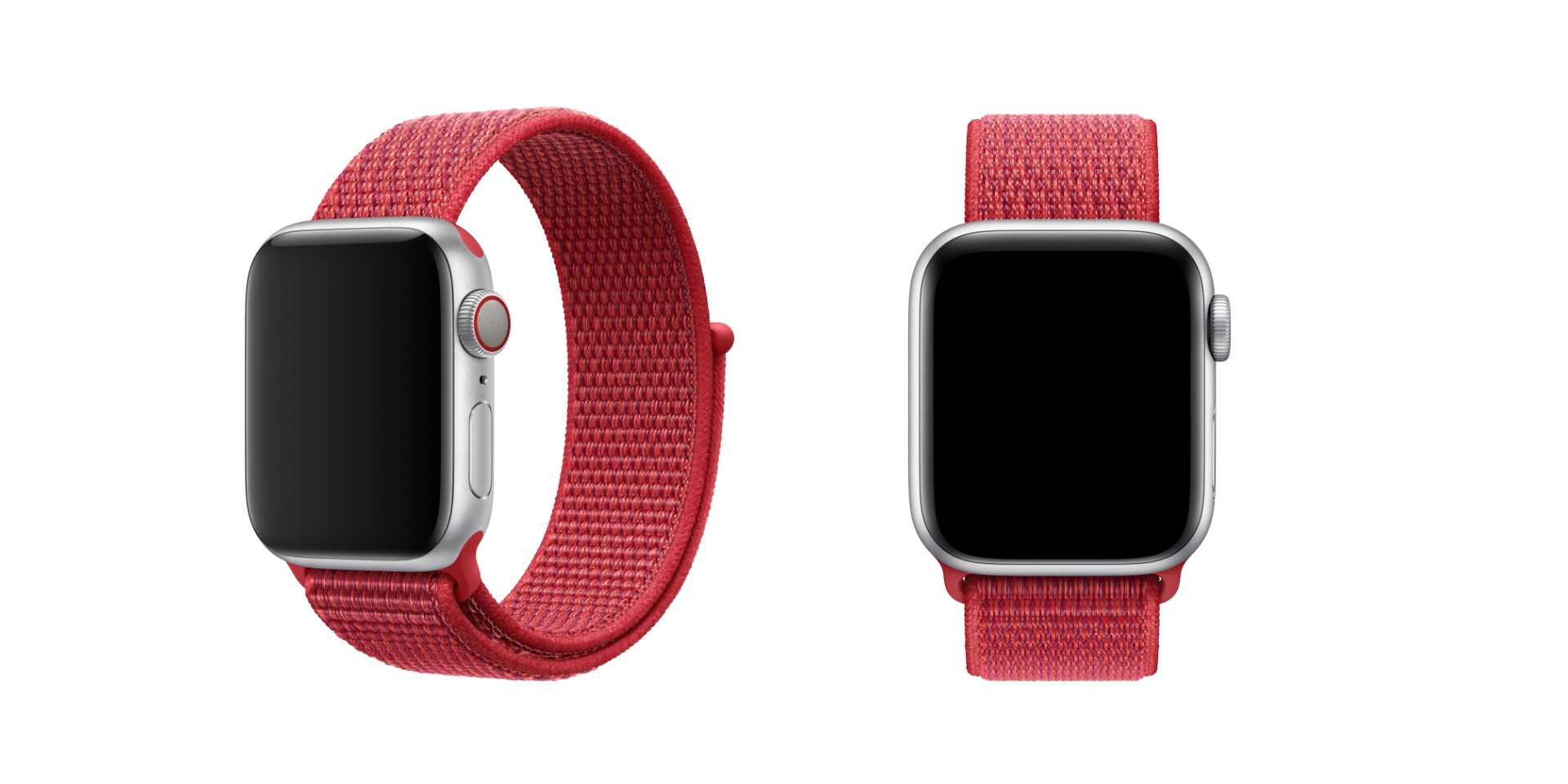 (PRODUCT)RED Sport Loop for Apple Watch debuts alongside recently introduced Hermès straps
