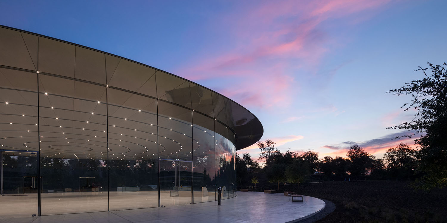 Steve Jobs Theater wins prestigious engineering award for 'structural artistry'