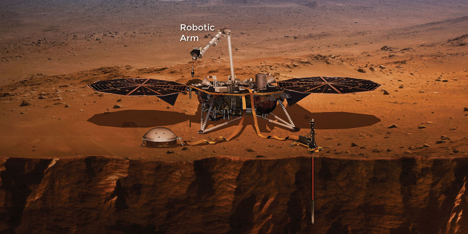 mars insight landing tv - photo #3