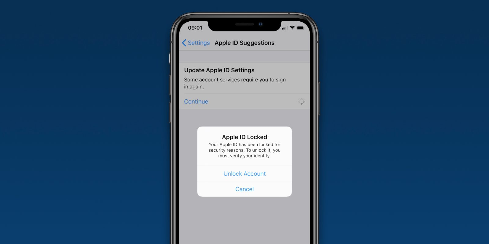 Some iPhone Users Finding their Apple ID Accounts Have been Inexplicably Locked, Requiring Password Resets