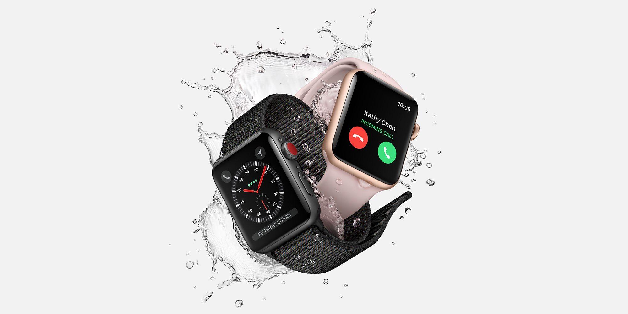 apple watch series 3 models