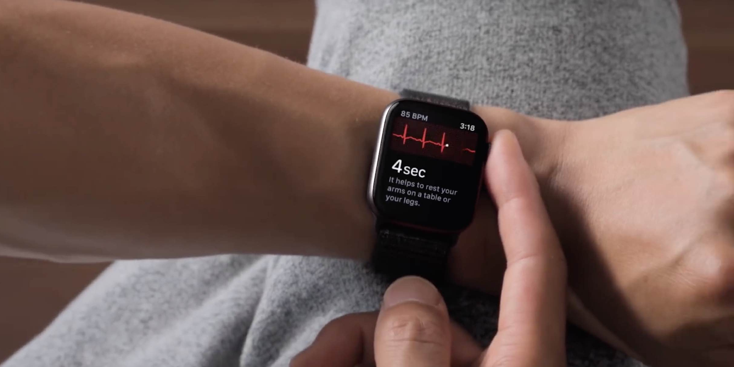 Apple Watch Series 4 getting the ECG app today with watchOS 5.1.2