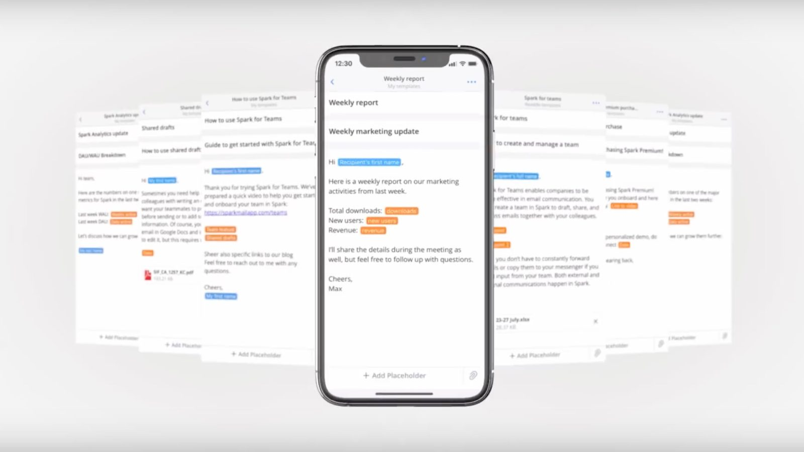 spark launches email templates for ios and mac to easily create reports quotes team updates more