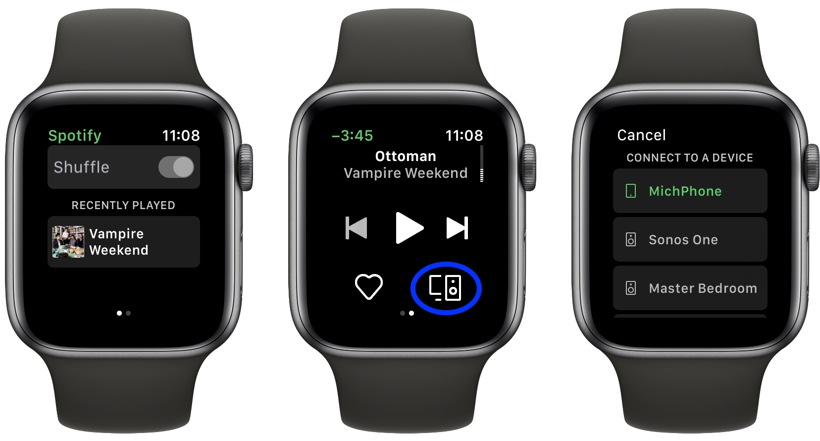 How to get Spotify on Apple Watch