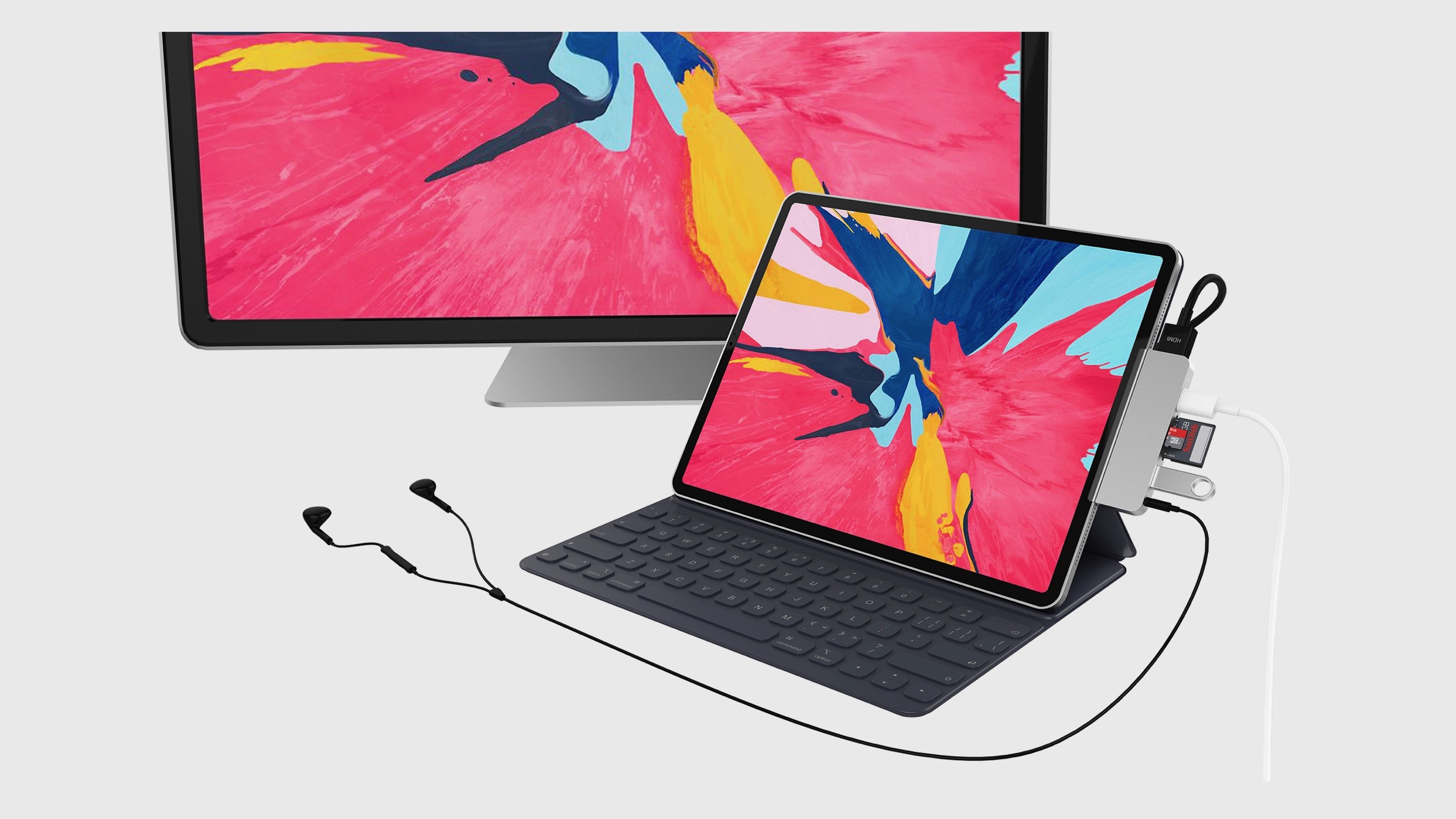 [Update: Now available at 50% off] Hyper unveils the first iPad Pro USB-C hub with HDMI, USB-A, headphone jack, SD slot, more