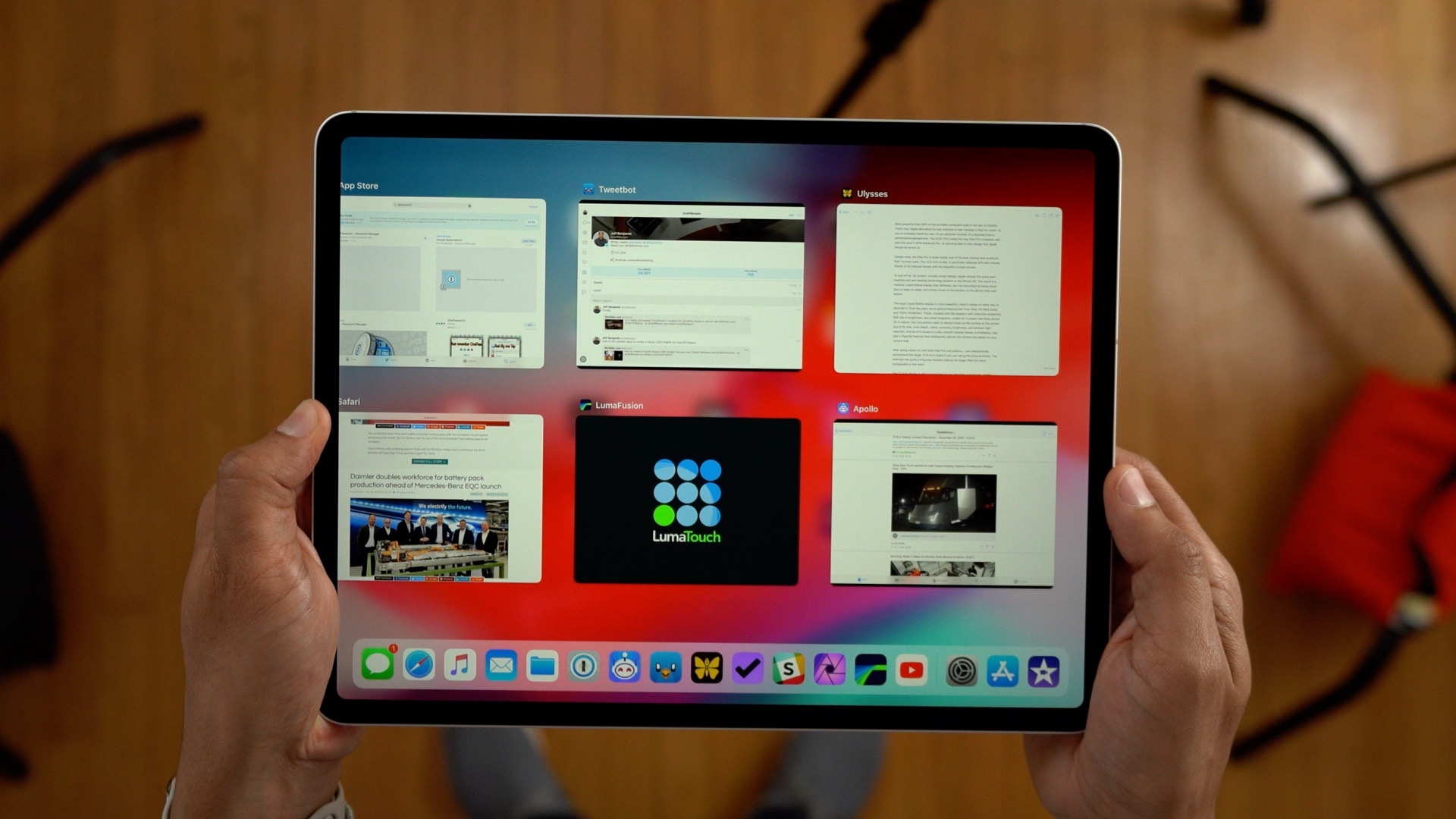 Writing with iPad Pro: Doing real work on a portable, LTE-enabled computer