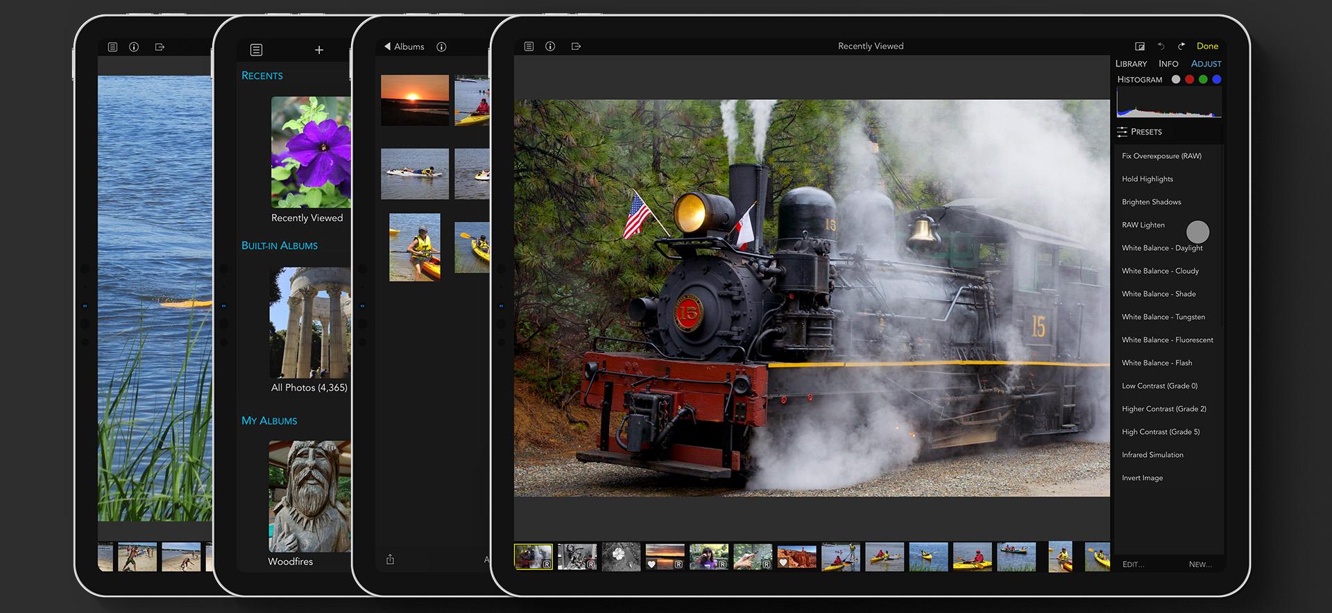 Raw Power 2.0, un editor de fotos brillante para macOS e iOS 1
