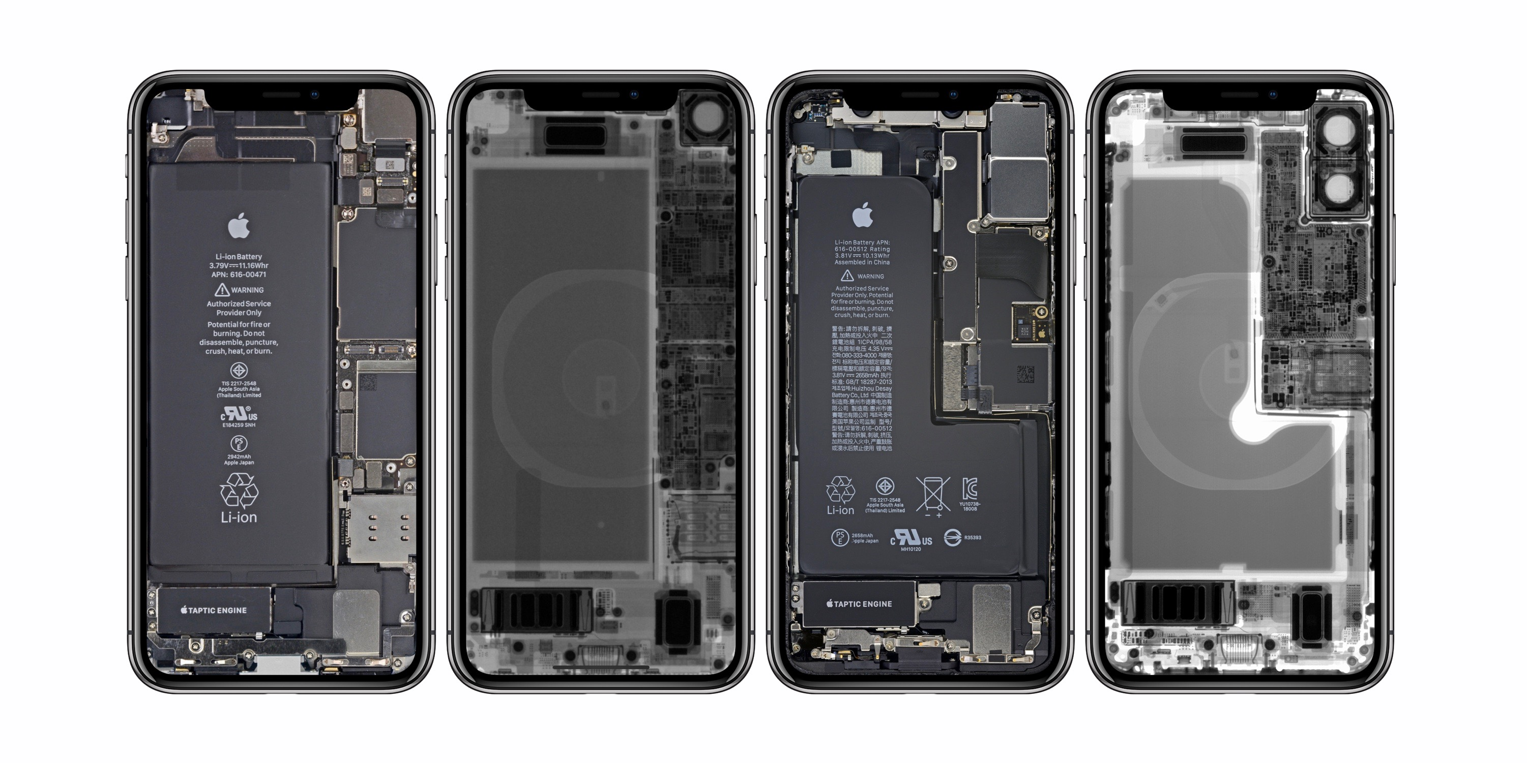 iFixit releases fun x-ray and internal wallpapers for iPhone XR