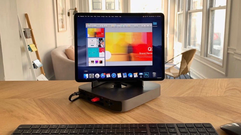 Luna Display Lets iPad Pro Be your Primary Mac Mini Touchscreen Display