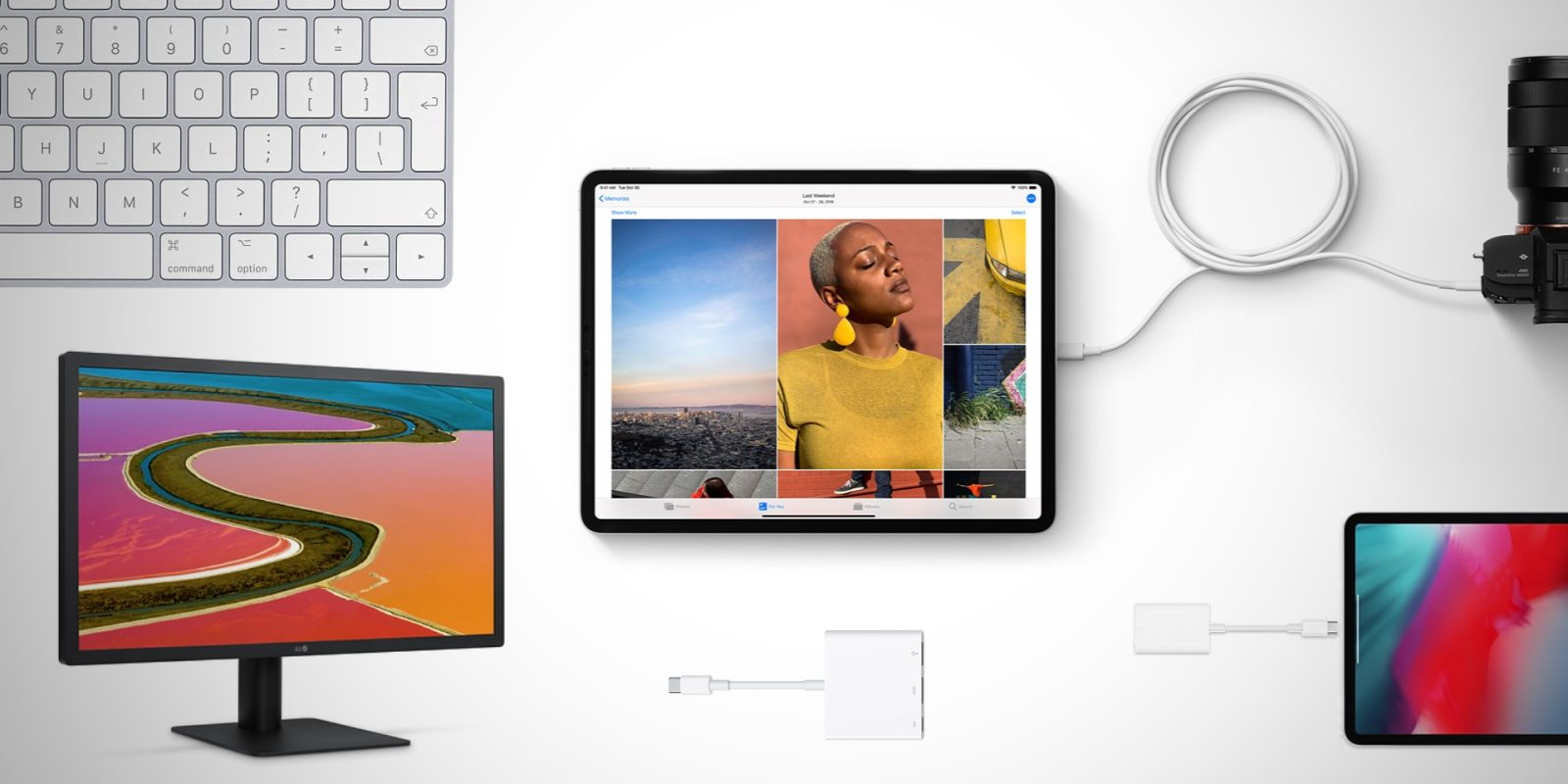 What can you connect to the new iPad Pro with USB-C? - 9to5Mac